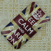 Brand New KEEP CALM AND CARRY ON Pattern Design Hard Back Case Cover For iPhone 3 3G 3GS Free Shipping