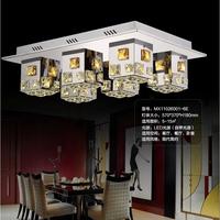 Free shipping,Hot sale,modern living room dining room k9 crystal lighting,modern led ceiling lamp