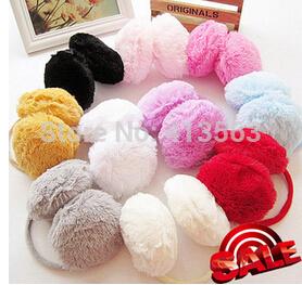 1pcs Fashion Cold-proof Ear Muffs For Women Men Warm Winter Ear Protector Solid Color Earmuffs Mens Winter Ear Warmer Earcap(China (Mainland))