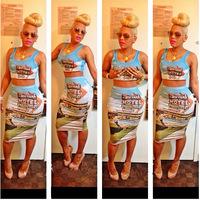 Free shipping kim kardashian New summer women  bodycon evening  es     sexy bandage dress