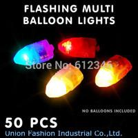 Free shipping,50pcs/lot WHITE LED balloon Lamp,LED Ball Light for Paper Lantern Balloon,LED Party Decoration Light