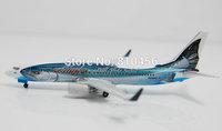 Free Shipping!1:400 GeminiJets air alaska B737 model airline souvenir gift aeroplane model