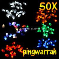 Free shipping,50pcs/lot  RED LED balloon Light,LED Balloon Light for Paper Lantern Balloon,LED Party Decoration Light