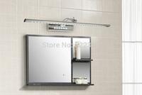 7W 53CM Stainless Steel Modern LED Bathroom Light Wall Sconces Mirror Light Lamp For Home LED Luminaire Stainless Steel
