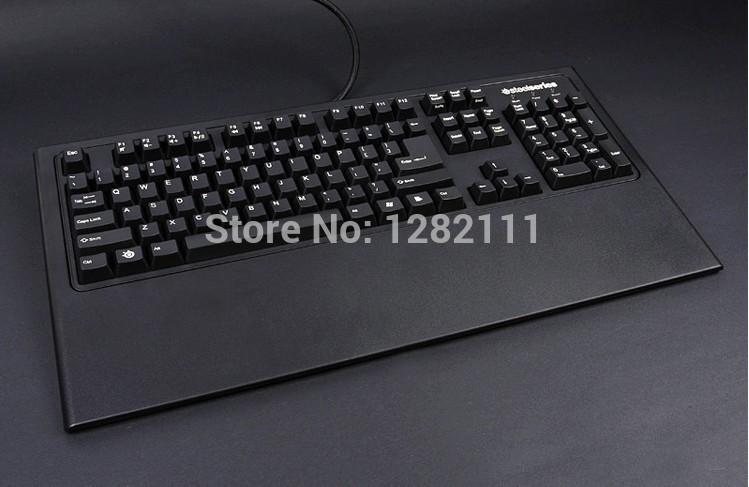 Original Gaming Keyboard Steelseries 7G Mechanical Keyboard 104KEYS Cherry MX Switch Black Dota 2 WOW(China (Mainland))