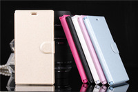 100pcs/lot-XIAOMI M3 Leather Case XIAOMI MI3 Protective Flip Cover Case Stand Case 6 colors Free shipping DHL