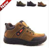 Men'S Hiking Shoes Factory Direct Wholesale Leisure Sports Shoes Turned Fur Men'S Hiking Shoes