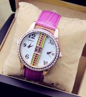 JW026 Fashion Casual Lady Watches Full Diamond Imitation Wristwatches Women Dress Relogio Quartz Clock