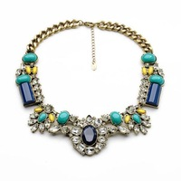 2014 New fashion Bohemia exaggerated national  necklace for women'