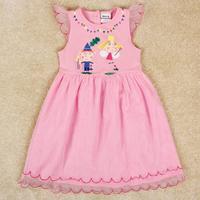 NOVA Kids girls dress with short sleeves H4938#