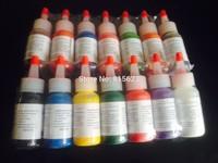 Tattoo Ink Pigment 30ml High Quality Tattoo inks Set 14Colors Professional Tattoo Ink Pigment Set  1OZ For  Tattoo Supply