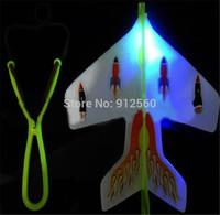 2014 Latest Hot sale flicker Amazing flying plane flicker Luminous ejection plane children's toys