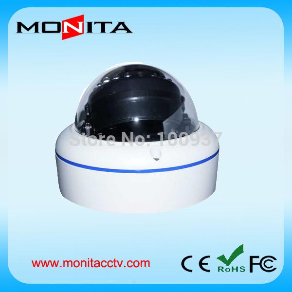 Free Shipping 2 Megapixel Onvid P2P IP Camera Iron Dome Vandalproof IP Camera Support HDMI Wireless(China (Mainland))