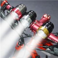 Bicycle Light T6 headlights 8800 mAh pack (3.7V) +charger + bag + holder box +Head Lamp LED T6 Light Bike Cycling Bicycle Light