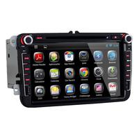 Volkswagen Tiguan / Seat Leon / Skoda / Jetta / Polo / Golf / Passat / Turan / Caddy Android OS Car Stereo Radio , GPS Navi
