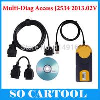 2015 Newest Multi-Diag Access J2534 2013.02V MultiDiag Access J2534 Pass-Thru OBD2 Device