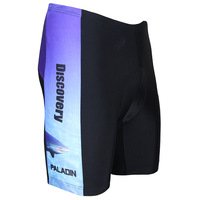 Cool man's choice Fitness Cycling Shorts Riding Bicycle Bike Underwear Blue 3D Padded Coolmax Gel M-3XL Paladin Men's