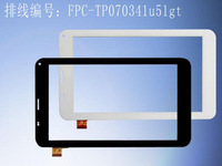 free shipping ACUBE TALK7X U51GT-W 3G  tablet pc touch screen panel Sensor Glass Replacement