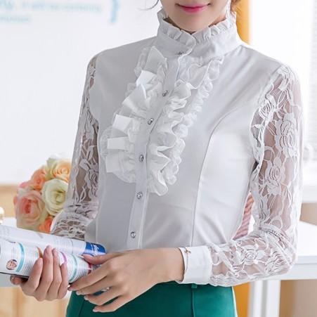 Детские Белые Блузки Для Школы Омск