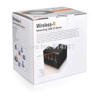 New Wireless Networking USB 2.0 Server Wireless Printer Server Sharing