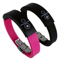 Bluetooth Bracelet With Incoming Calls Vibration, Silicone Bluetooth Wristband, Vibrating Bluetooth Bracelet Free Shipping