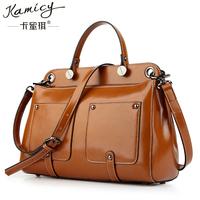 Free shipping 2014 vintage bags luxury leather female fashion one shoulder handbag cross-body women's handbag