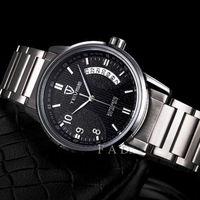 new 2014 military full steel brand automatic self-wind relogios masculino calendar watch mechanical fashion luxury watches clock