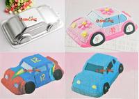 Car Pan Tin Fondant Cake Bakeware Cupcake Mold Decoration DIY Tool