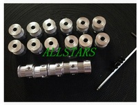 Free Shipping New 10pcs GT2 Timing Pulley 20teeth Alumium Bore 5mm fit for GT2 belt Width 6mm for Reprap Prusa mendel CNC F-0112