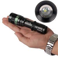 High Power UltraFire 2000LM CREE XM-L Q5 LED Flashlight Torch 18650 Adjustable Flashlight---Free Shipping