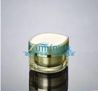 FV  30G gold eye square shape cream JAR,cosmetic container,cream jar,Cosmetic Jar,Cosmetic Packaging