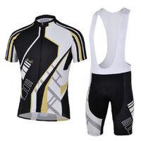 Bike Cycling Clothing Bicycle Wear Suit Short Sleeve Jersey + (Bib) Shorts S-3XL  CC1002