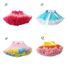 2014 New Style Baby Girls Chiffon Fluffy Pettiskirts Tutu Princess Skirts Baby Girl Clothes Free Shipping