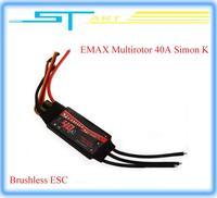 4 pcs/lot Hot EMAX 40A Multirotor Simon K RC Brushless Electronic ESC UBEC For Multirotor Aircraft Low Shipping Fee  helikopter
