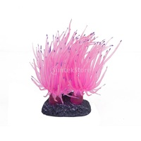 New 2014 Brand New  Artificial Fake Coral for Fish Tank Decoration - Pink  Free Shipping