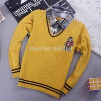 2014 Twinnie Baby Kid Sweater Boy Sweater (4Pcs/lot) Children Wear Sweaters {iso-14-8-12-A9}