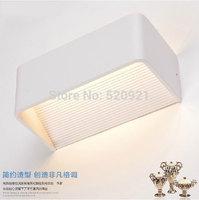 Free shipping AC220V 6W high-grade modern brief wall lights corridor lights bathroom waterproof anti-fog led mirror lamps