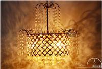2014 The Minimalist modern Golden K9 Crystal Chandeliers Crystal Restaurant  Fashion Living Room Lamp Bedroom Lamp ds-074