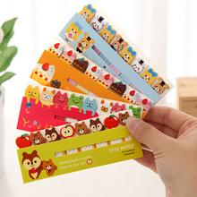 Animales divertidos Pegatinas Memo Notas Adhesivas Oficina Portátil Post- It Notes Bookmark Marcador Inicio / color al azar OSS - 0053(China (Mainland))