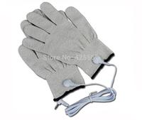 Conductive Fiber Electrode Gloves Massage TENS Gloves With DC 2.5mm Electrode Wire Use With TENS/EMS Machines