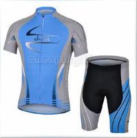 Bike Cycling Clothing Bicycle Wear Suit Short Sleeve Jersey + (Bib) Shorts S-3XL  CC1023