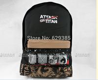 2014 Attack on Titan casual fashion shoulder bag / Backpack / Dual-use backpack Shoulders Messenger laptop Computer  school bag
