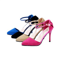 Free shipping summer new Korean version women's high heels singles buckle shoes factory direct outlets 34~38