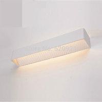 Free shipping AC220V 12W quality modern brief wall lights corridor lights bathroom waterproof anti-fog led mirror lamps