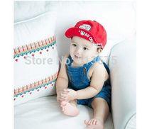 Free Shipping Spring/Autumn 2014 new boy/girl GETOUT letter along folding soft baby baseball cap children's baseball cap