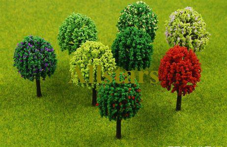 Free shipping brand new TEC series model trees 10 pcs Scale Train Layout Set Model tree 14cm buliding model tree J-0125(China (Mainland))