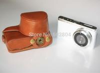 Wholesale! Fashion nx mini camera PU leather case bag for Samsung NX mini NXMINI imitation leather case camera bag
