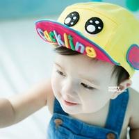 Free Shipping NEW Kids Baseball cap cute cartoon hats fashion Hot sale kids cotton Hat 1pc H556