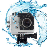 New 170 Wide Angle 30m Waterproof Sports Action Video Camera 1080p Full HD Underwater Camcorder Extreme Diving 0.41-DVR26W