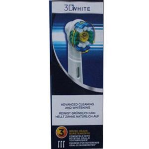 3шт ( 3шт / упаковка ) браун b оральный 3d белый pro яркость электрическая зубная щётка главы eb18-3 для b оральный электрическая зубная щётка